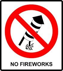 Fireworks Prohibited