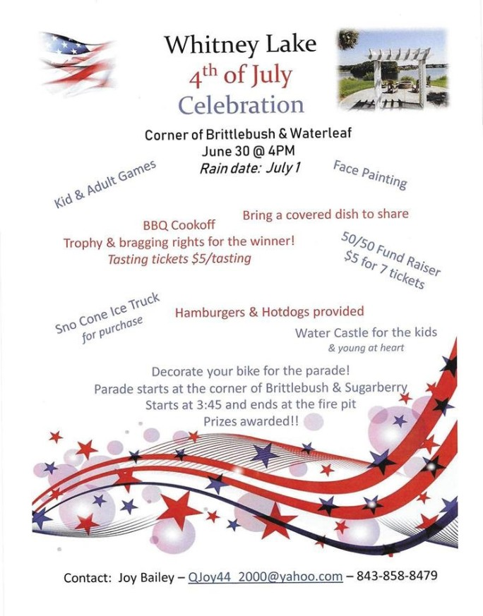 Fourth of July Flyer 2018 Revised