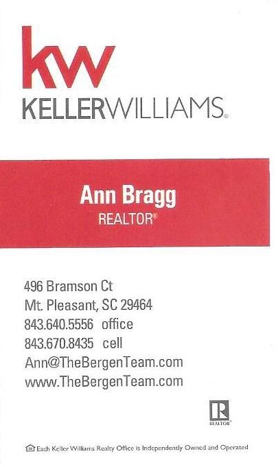 Ann Bragg Bus Card