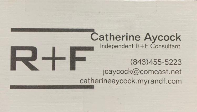 Catherine Aycock Bus. Card