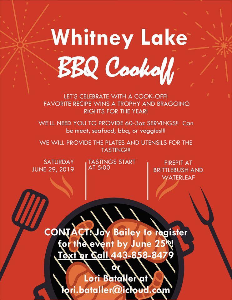 WL BBQ Cookoff 2019